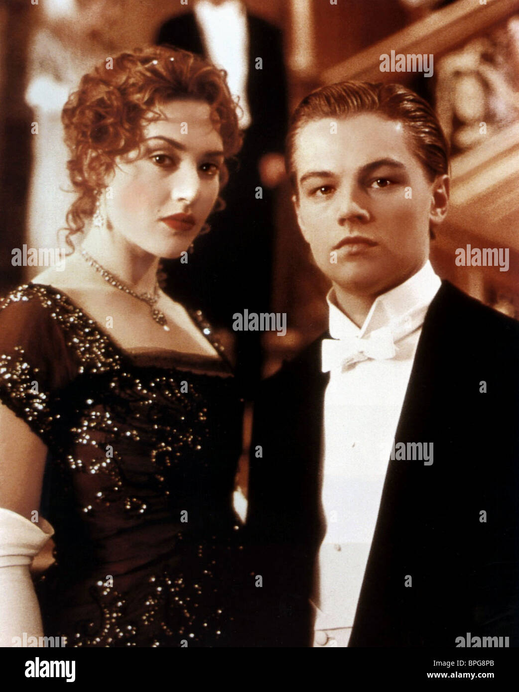 Kate Winslet Leonardo Dicaprio Titanic 1997 Stock Photo Alamy