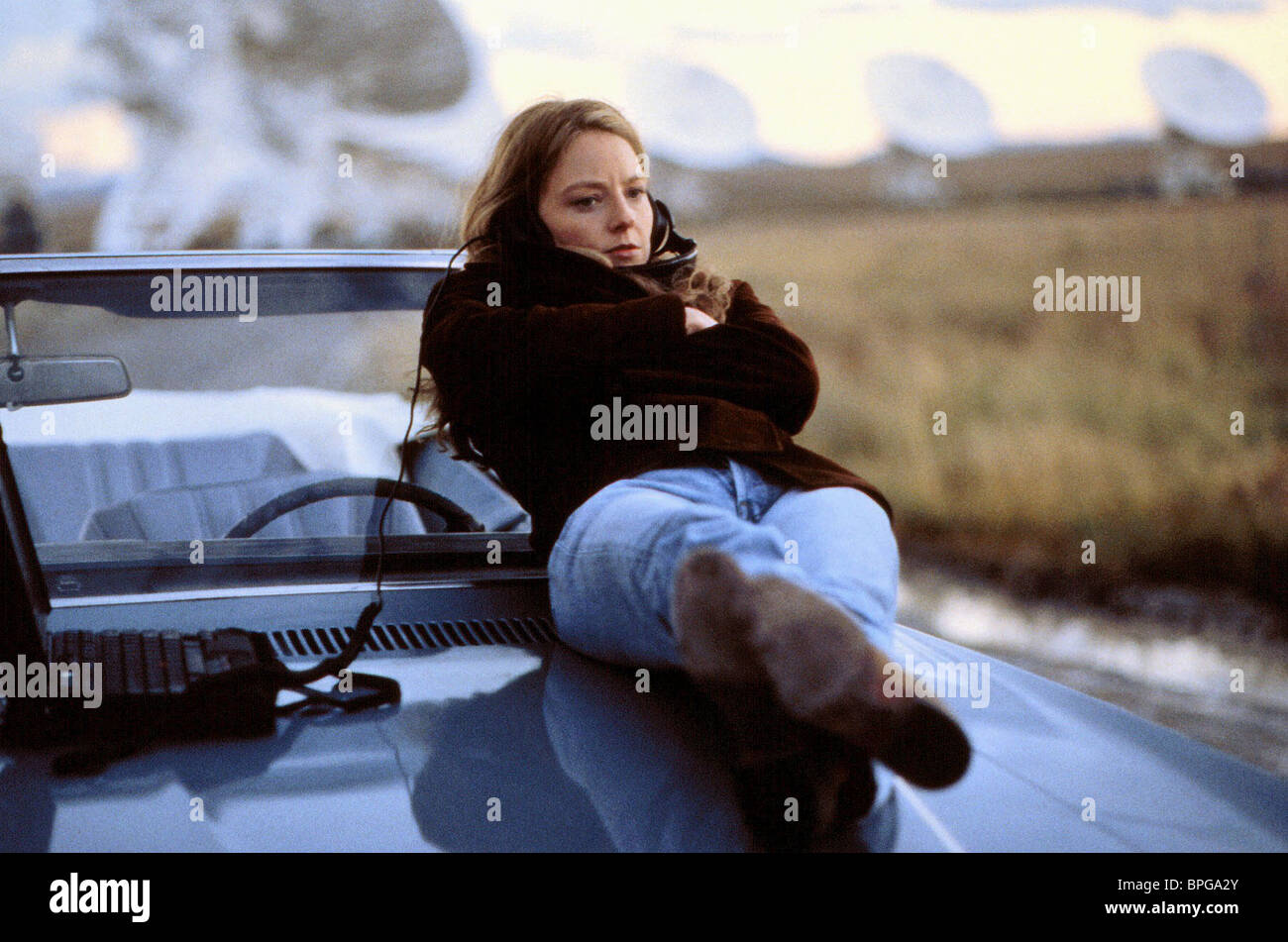 Jodie Foster Contact 1997 Stock Photo Alamy