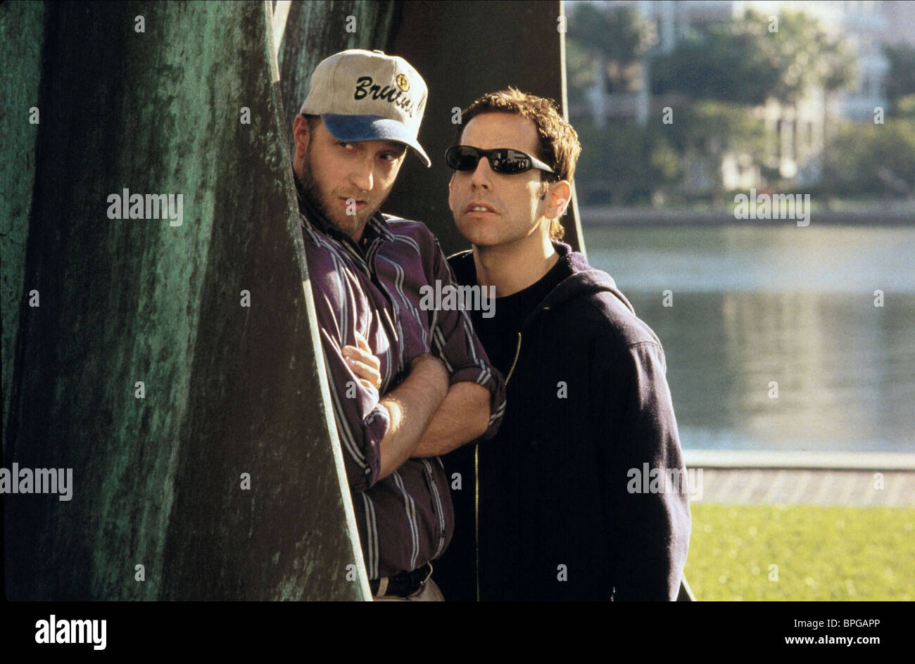 CHRIS ELLIOTT, BEN STILLER, THERE'S SOMETHING ABOUT MARY, 1998 - Stock Image