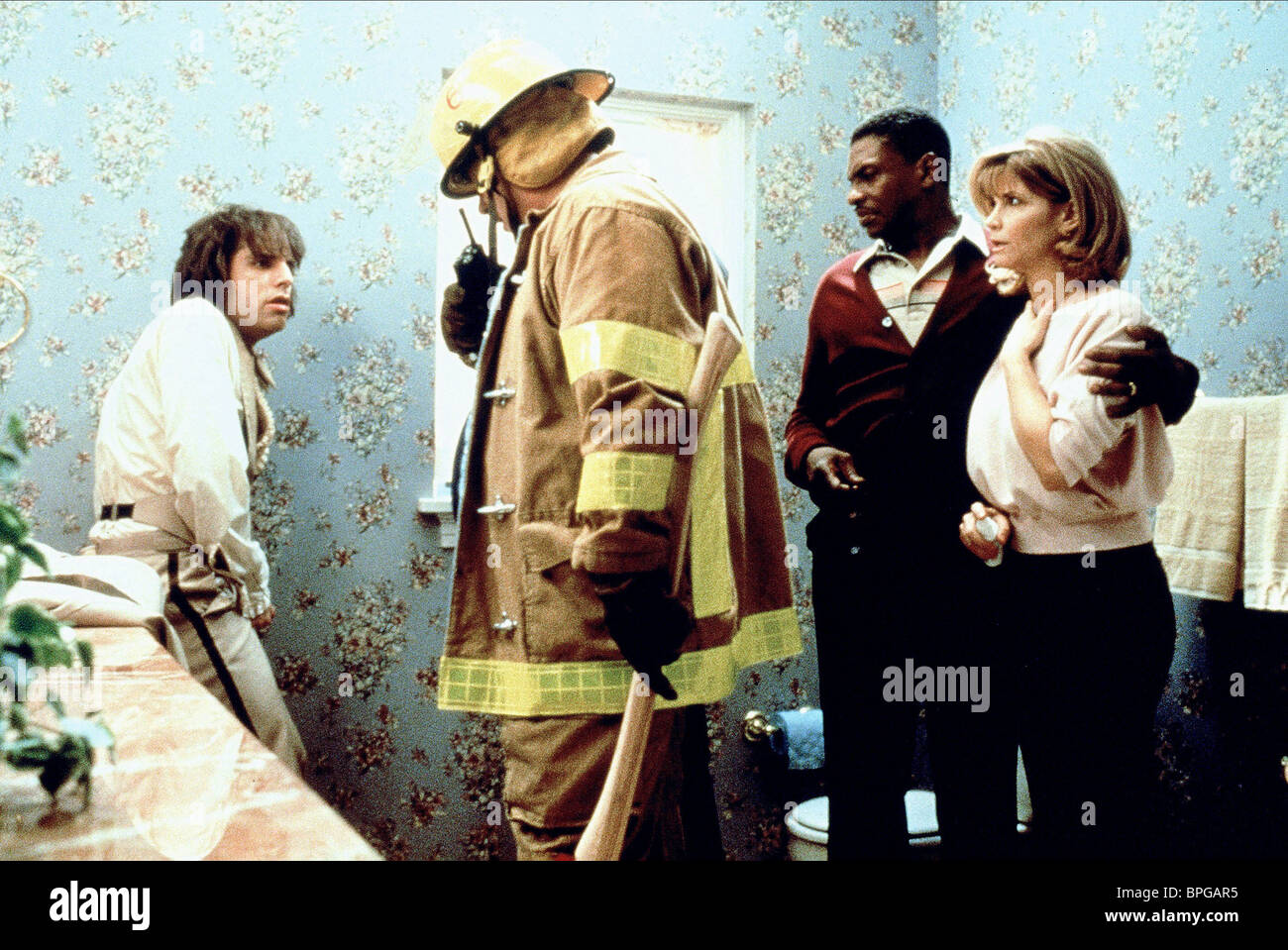 BEN STILLER, LENNY CLARKE, KEITH DAVID, MARKIE POST, THERE'S SOMETHING ABOUT MARY, 1998 - Stock Image