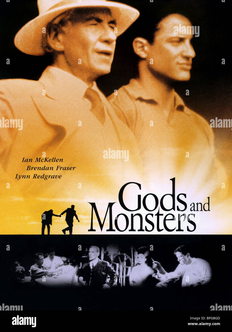 FILM POSTER GODS AND MONSTERS (1998) - Stock Image