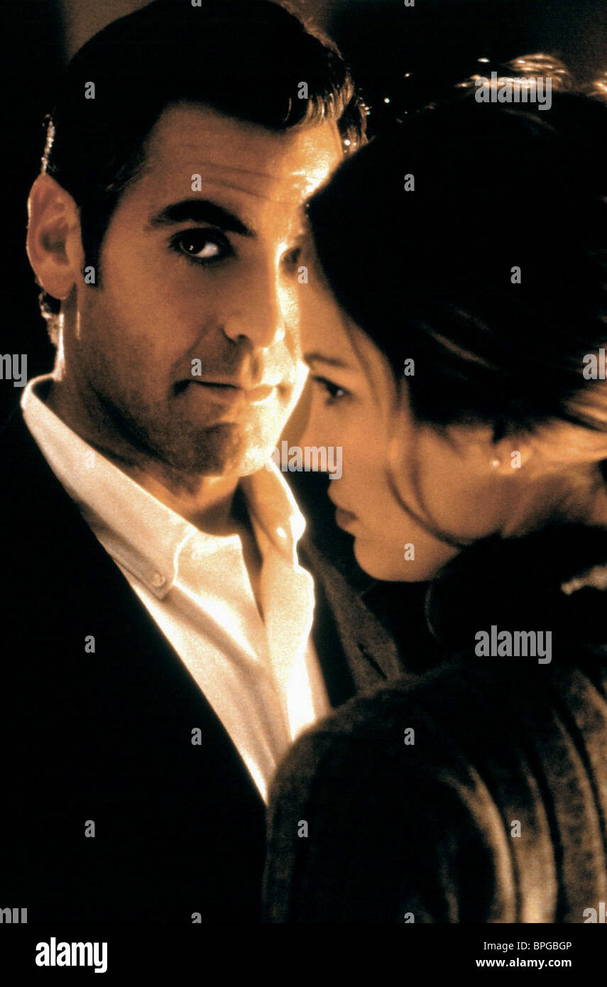 GEORGE CLOONEY, JENNIFER LOPEZ, OUT OF SIGHT, 1998 Stock