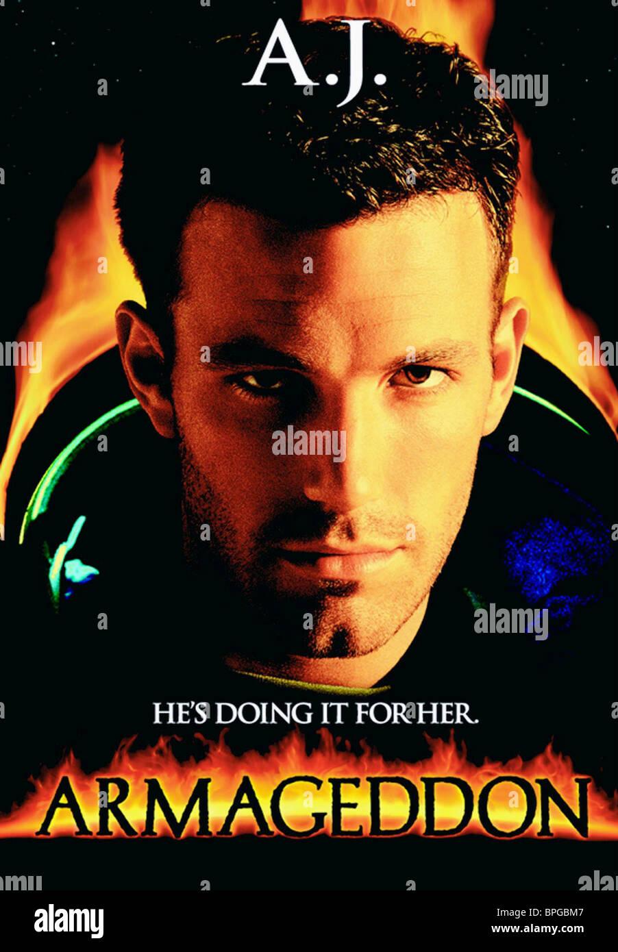 Ben Affleck Armageddon 1998 Stock Photo Alamy