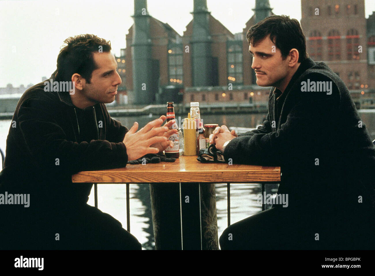 BEN STILLER, MATT DILLON, THERE'S SOMETHING ABOUT MARY, 1998 Stock Photo