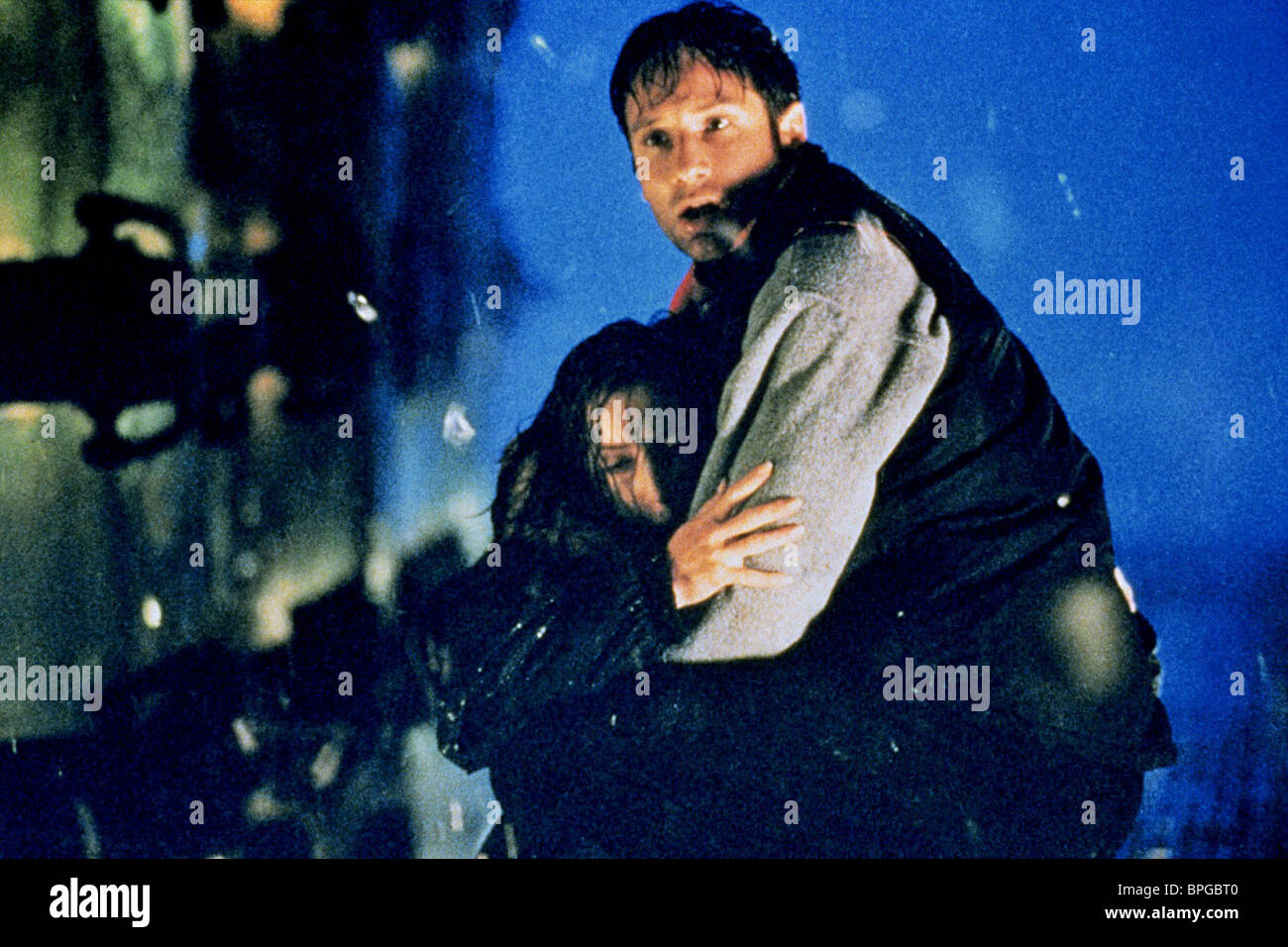 Gillian Anderson David Duchovny The X Files 1998 Stock Photo Alamy