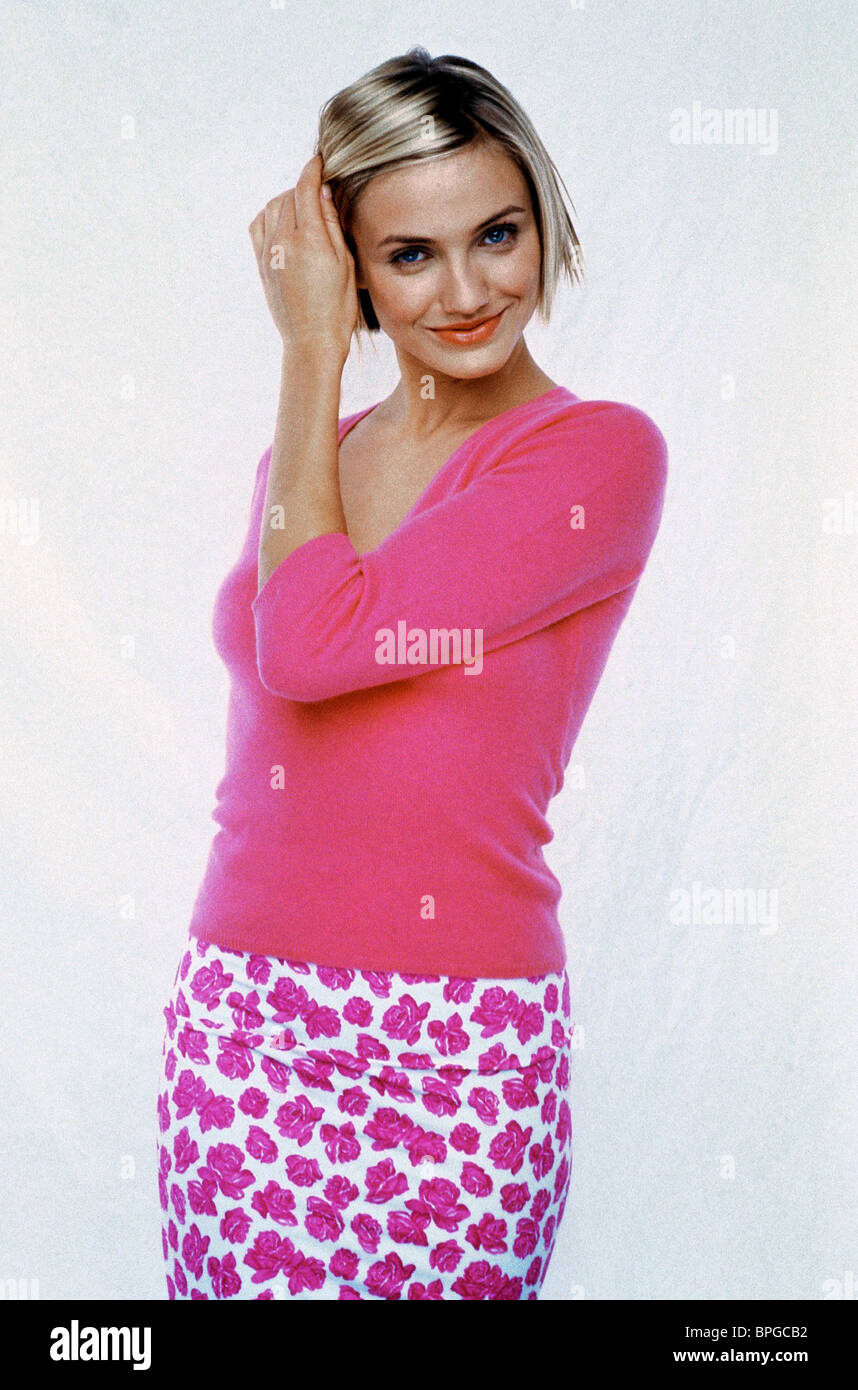CAMERON DIAZ THERE'S SOMETHING ABOUT MARY (1998) - Stock Image
