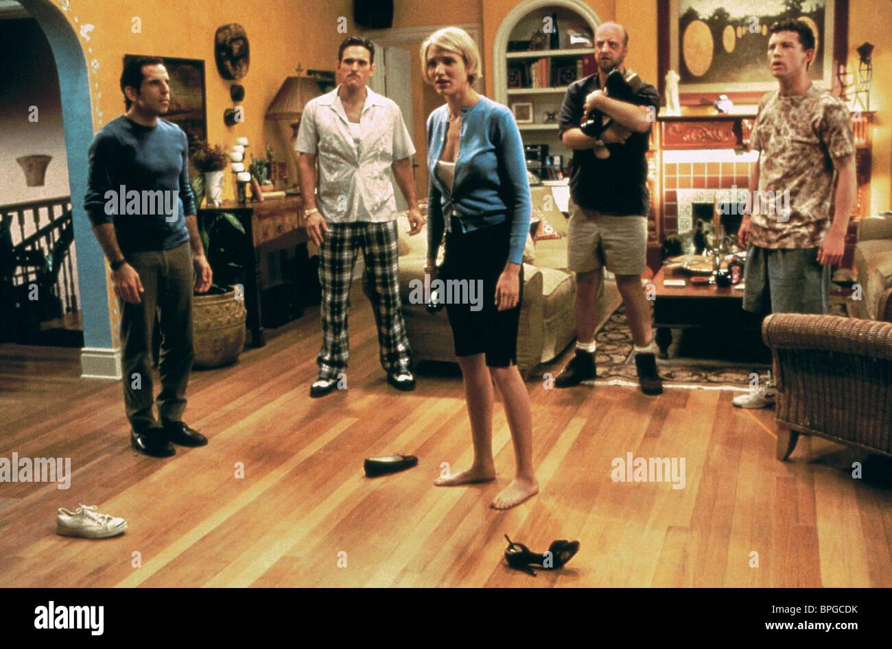 BEN STILLER, MATT DILLON, CAMERON DIAZ, CHRIS ELLIOTT, LEE EVANS, THERE'S SOMETHING ABOUT MARY, 1998 - Stock Image