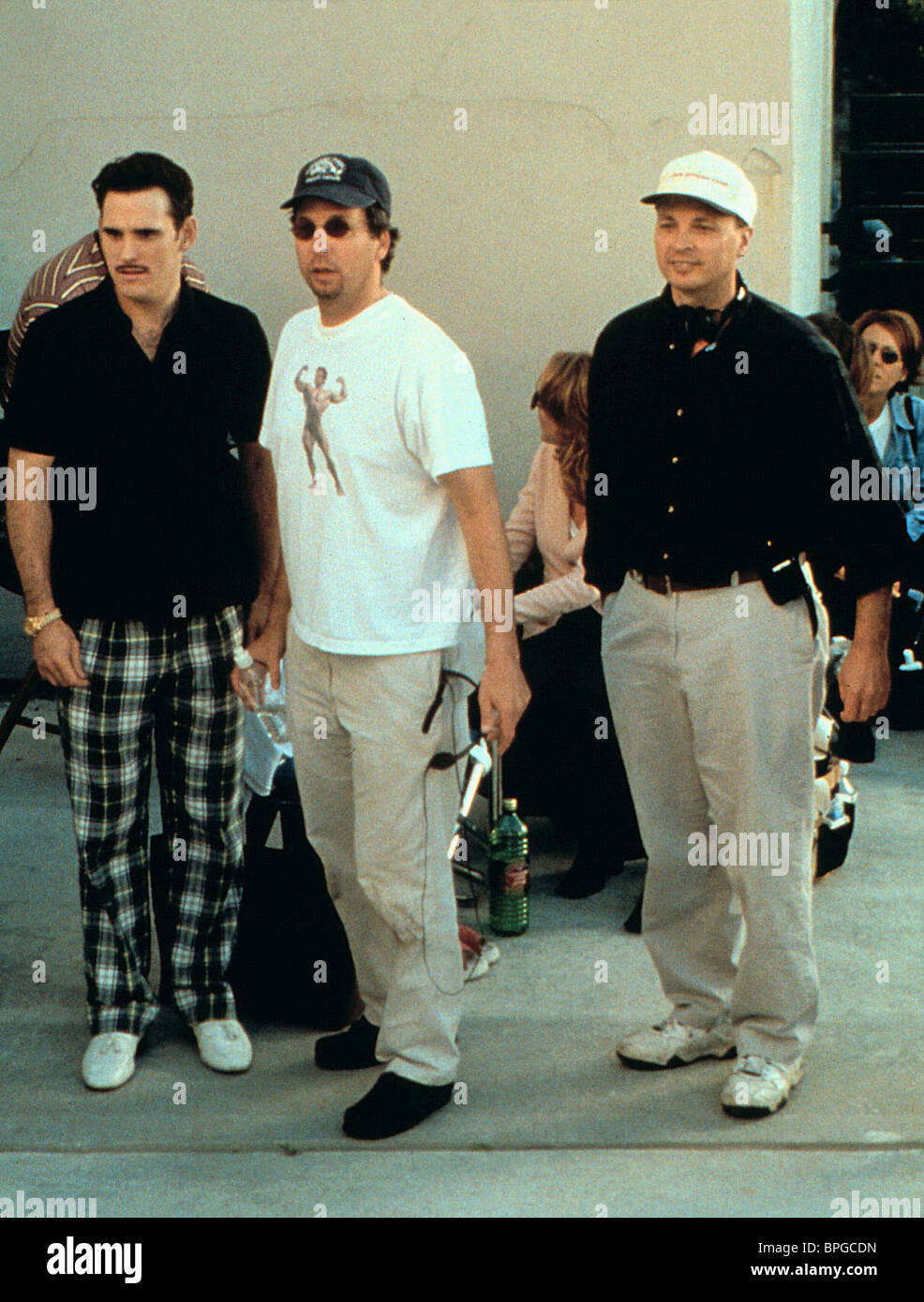 MATT DILLON PETER FARRELLY BOBBY FARRELLY THERE'S SOMETHING ABOUT MARY (1998) Stock Photo