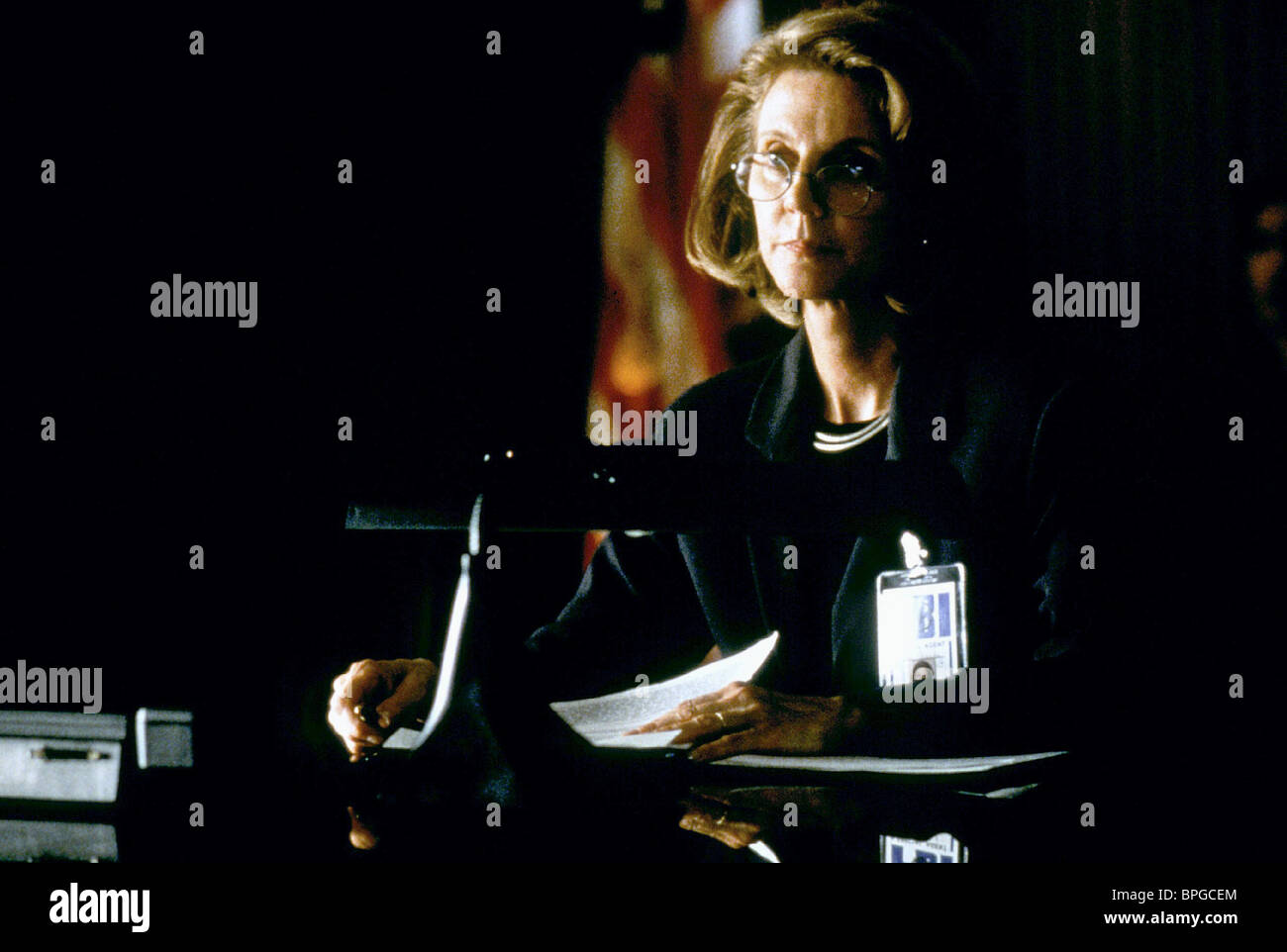 BLYTHE DANNER THE X-FILES: THE MOVIE (1998) - Stock Image