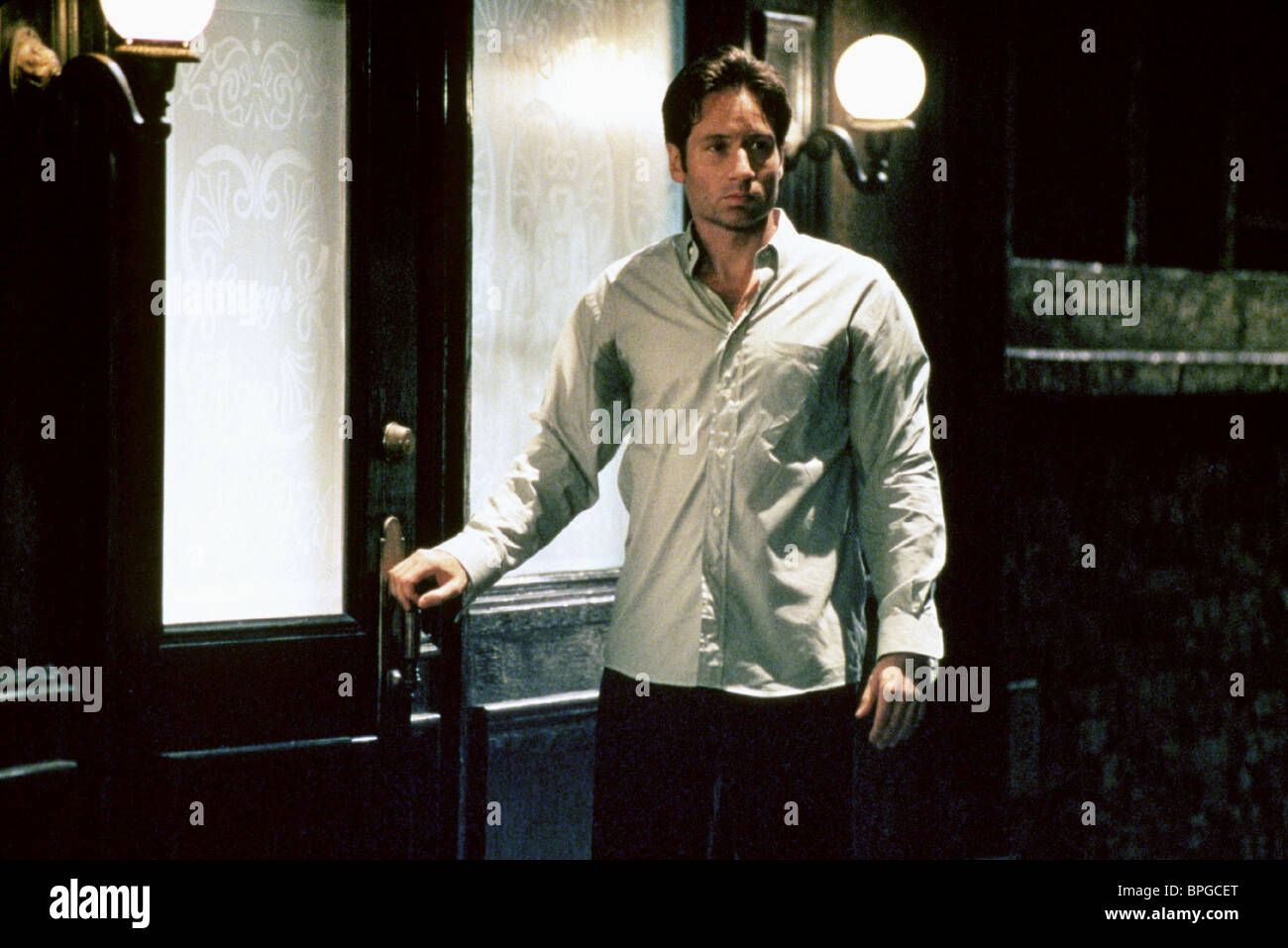 David Duchovny The X Files The Movie 1998 Stock Photo Alamy
