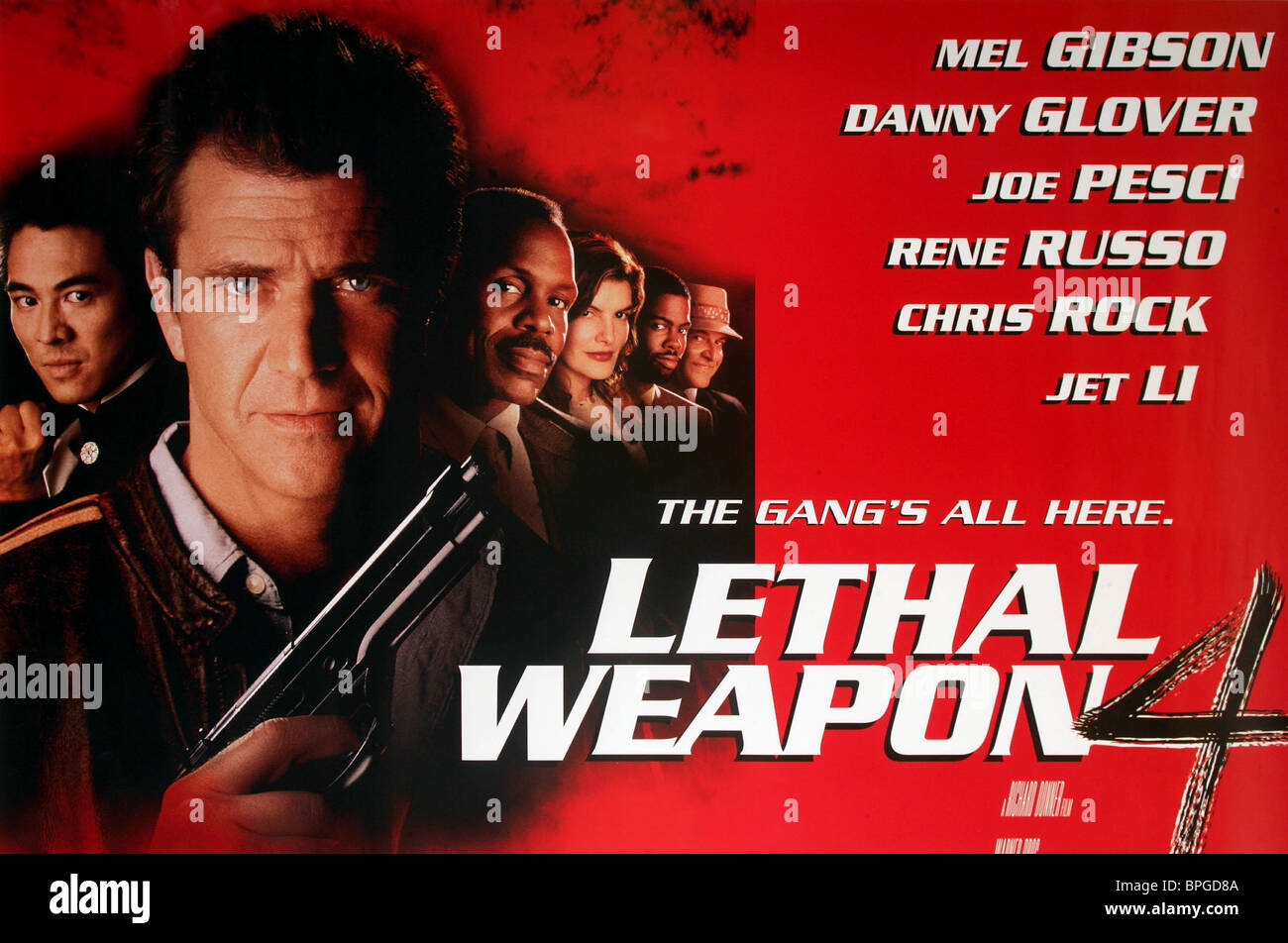 Lethal Weapon 4 1998 Jet Li High Resolution Stock Photography And Images Alamy