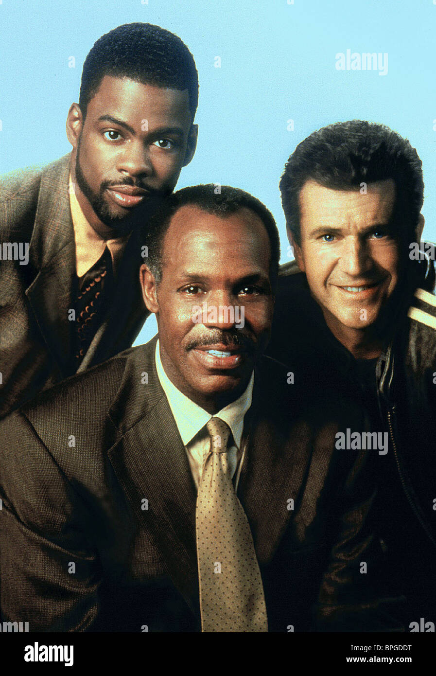 Chris Rock Danny Glover Mel Gibson Lethal Weapon 4 1998 Stock Photo Alamy