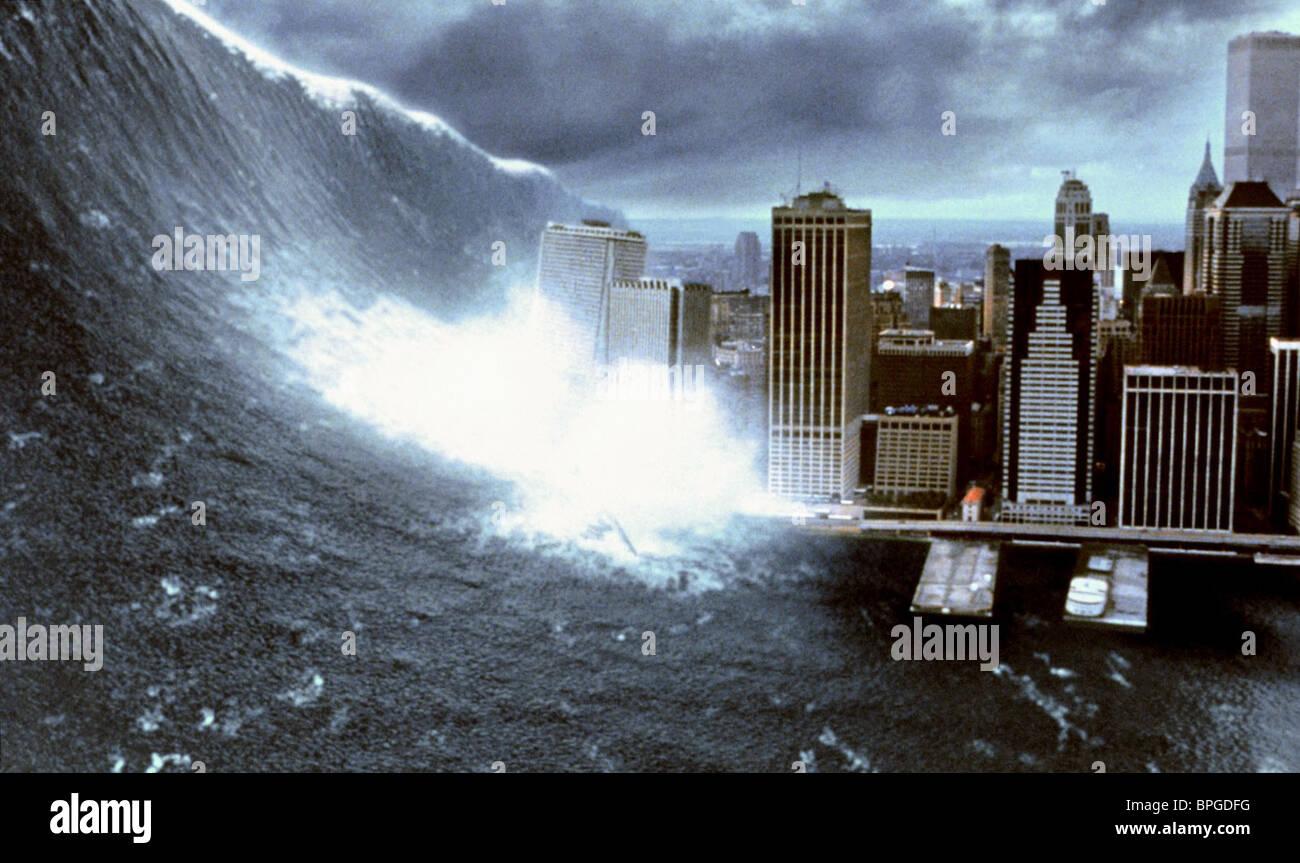 TIDAL WAVE HITS NEW YORK DEEP IMPACT (1998 Stock Photo ...