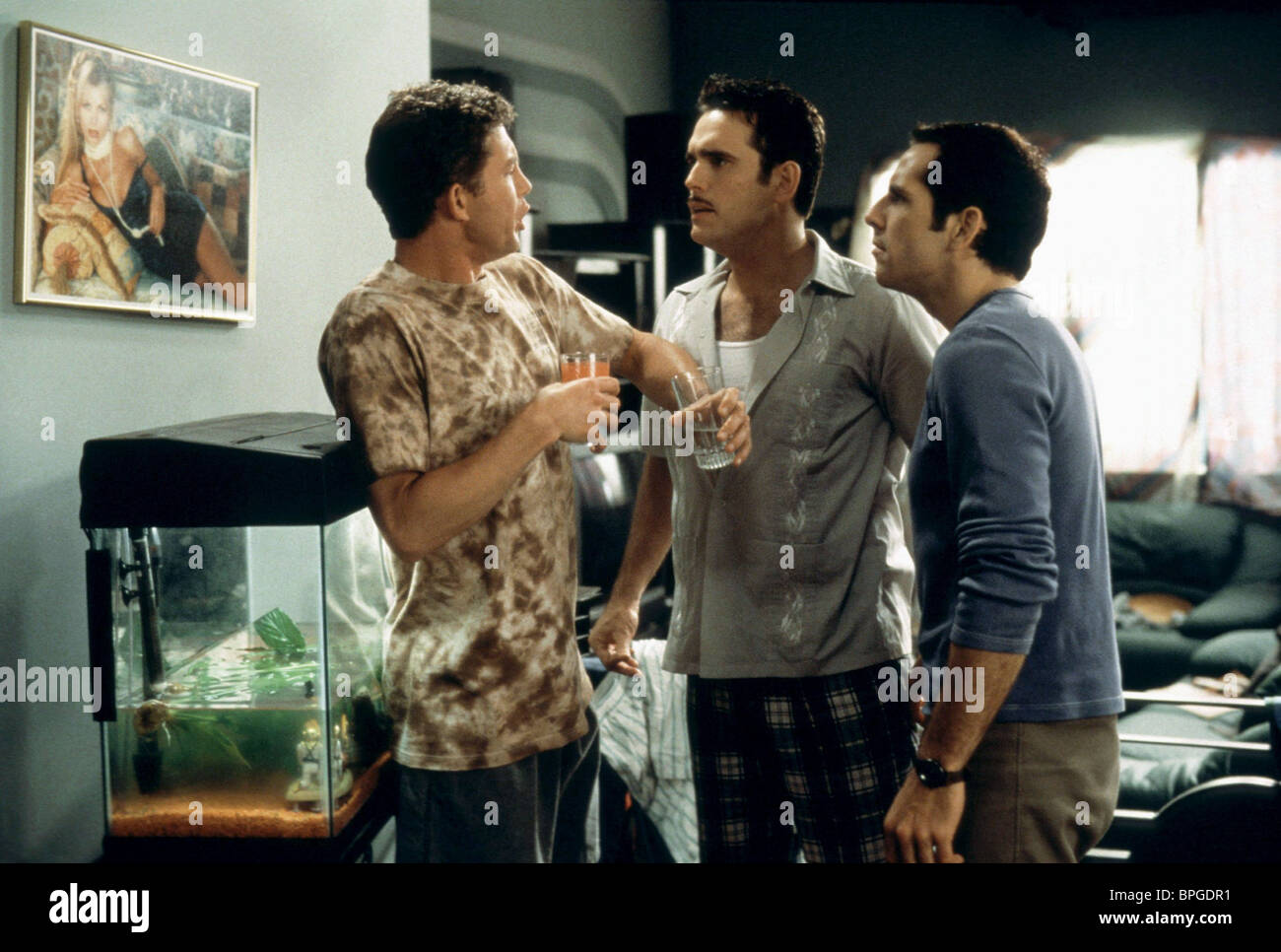 LEE EVANS, MATT DILLON, BEN STILLER, THERE'S SOMETHING ABOUT MARY, 1998 - Stock Image