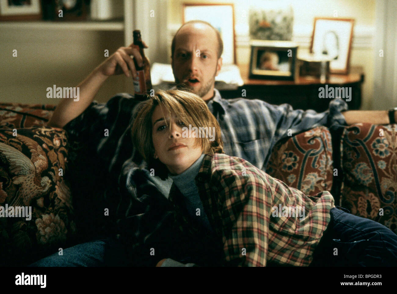 CHRIS ELLIOTT, HILLARY MATTHEWS, THERE'S SOMETHING ABOUT MARY, 1998 - Stock Image