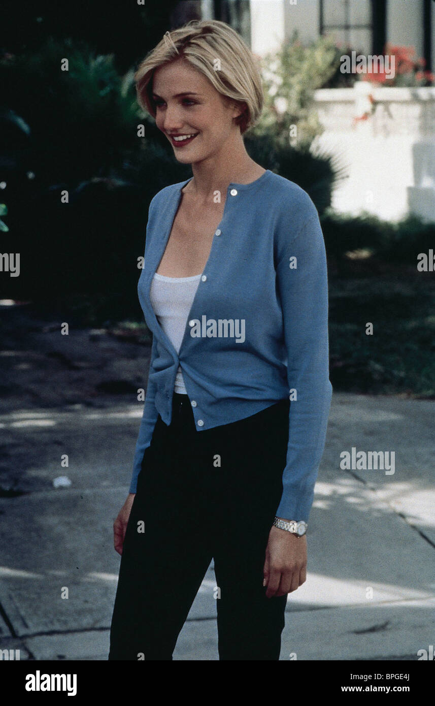 CAMERON DIAZ THERE'S SOMETHING ABOUT MARY (1998) Stock Photo