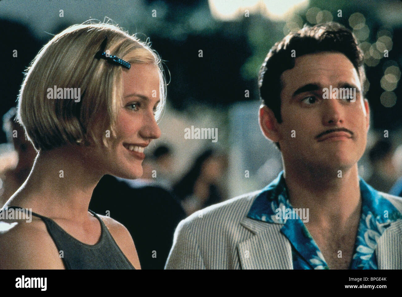 CAMERON DIAZ, MATT DILLON, THERE'S SOMETHING ABOUT MARY, 1998 - Stock Image