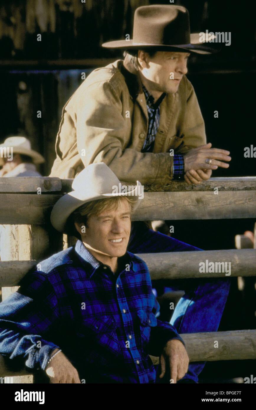 Robert Redford Chris Cooper The Horse Whisperer 1998 Stock Photo Alamy