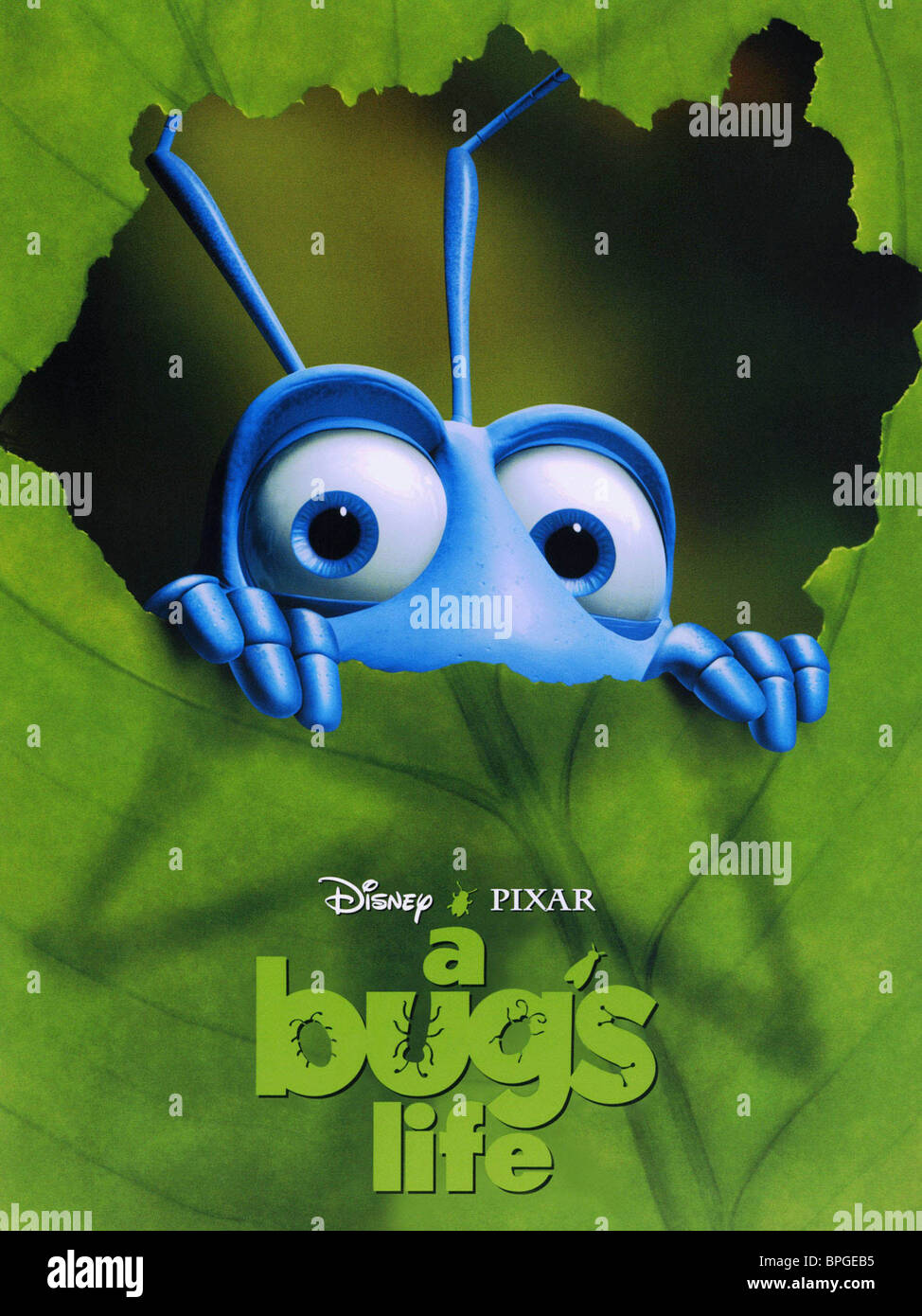 Film Poster A Bug S Life 1998 Stock Photo Alamy
