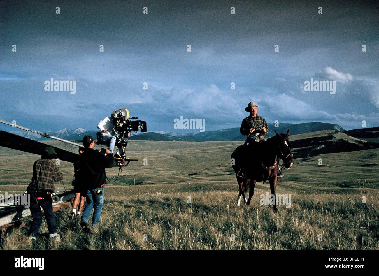 Robert Redford The Horse Whisperer 1998 Stock Photo Alamy