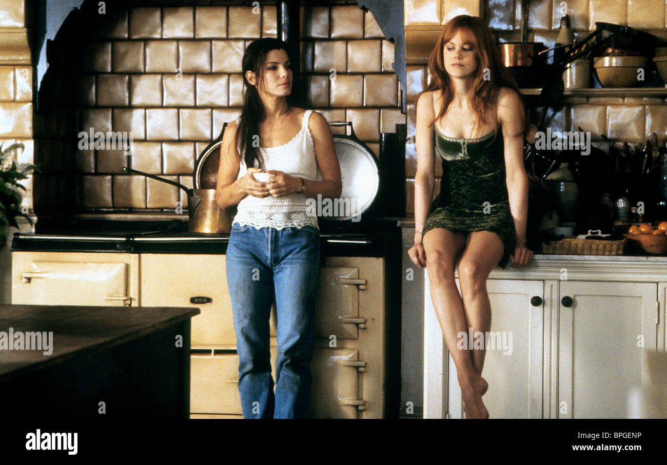 SANDRA BULLOCK, NICOLE KIDMAN, PRACTICAL MAGIC, 1998 - Stock Image