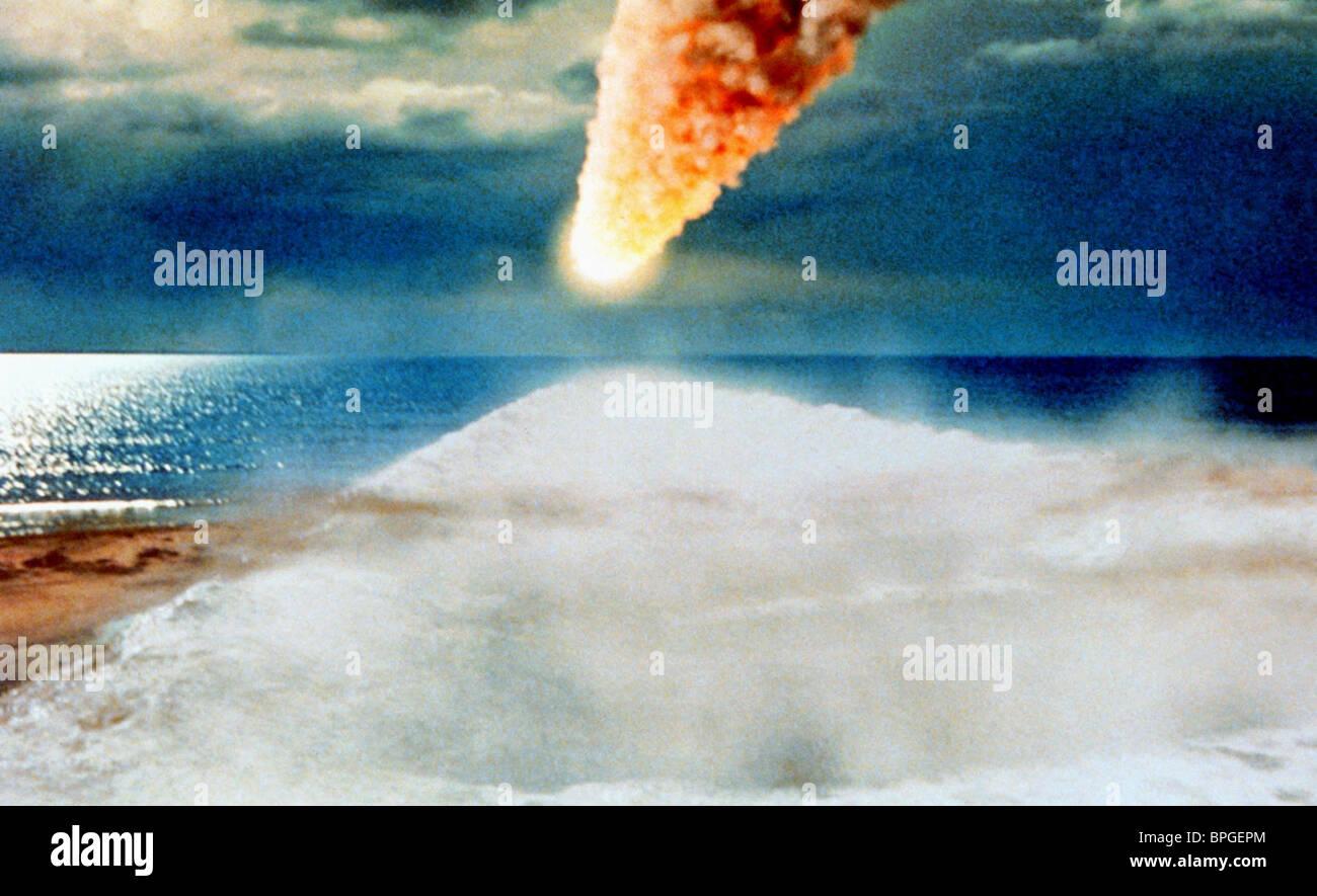 Meteor Scene Deep Impact 1998 Stock Photo Alamy