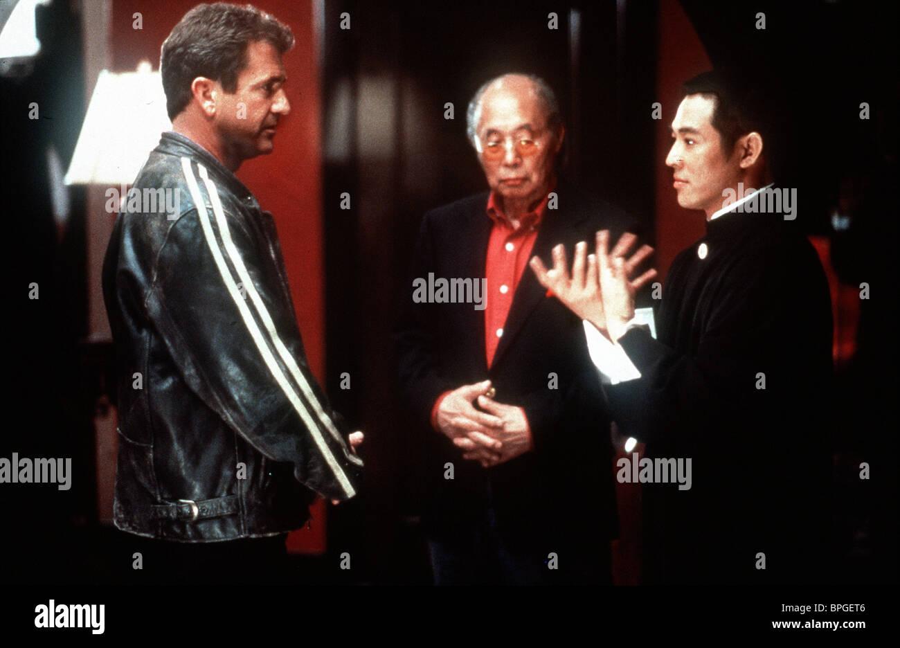 Mel Gibson Kim Chan Jet Li Lethal Weapon 4 1998 Stock Photo Alamy