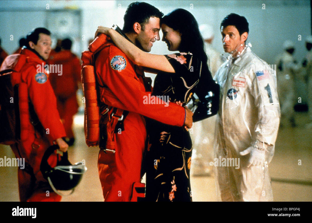 BEN AFFLECK & LIV TYLER ARMAGEDDON (1998 Stock Photo ... Ben Affleck Armageddon