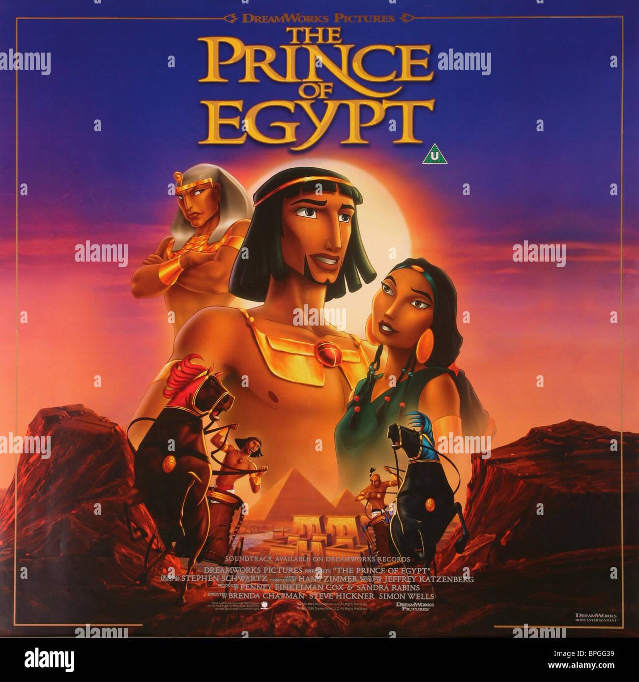 The Prince Of Egypt Film Stock Photos & The Prince Of Egypt Film