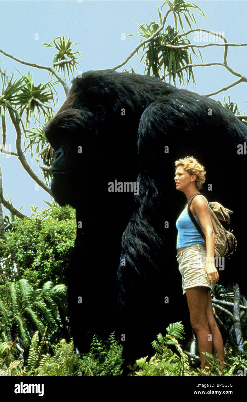 mighty joe young 1998 charlize theron stock photos