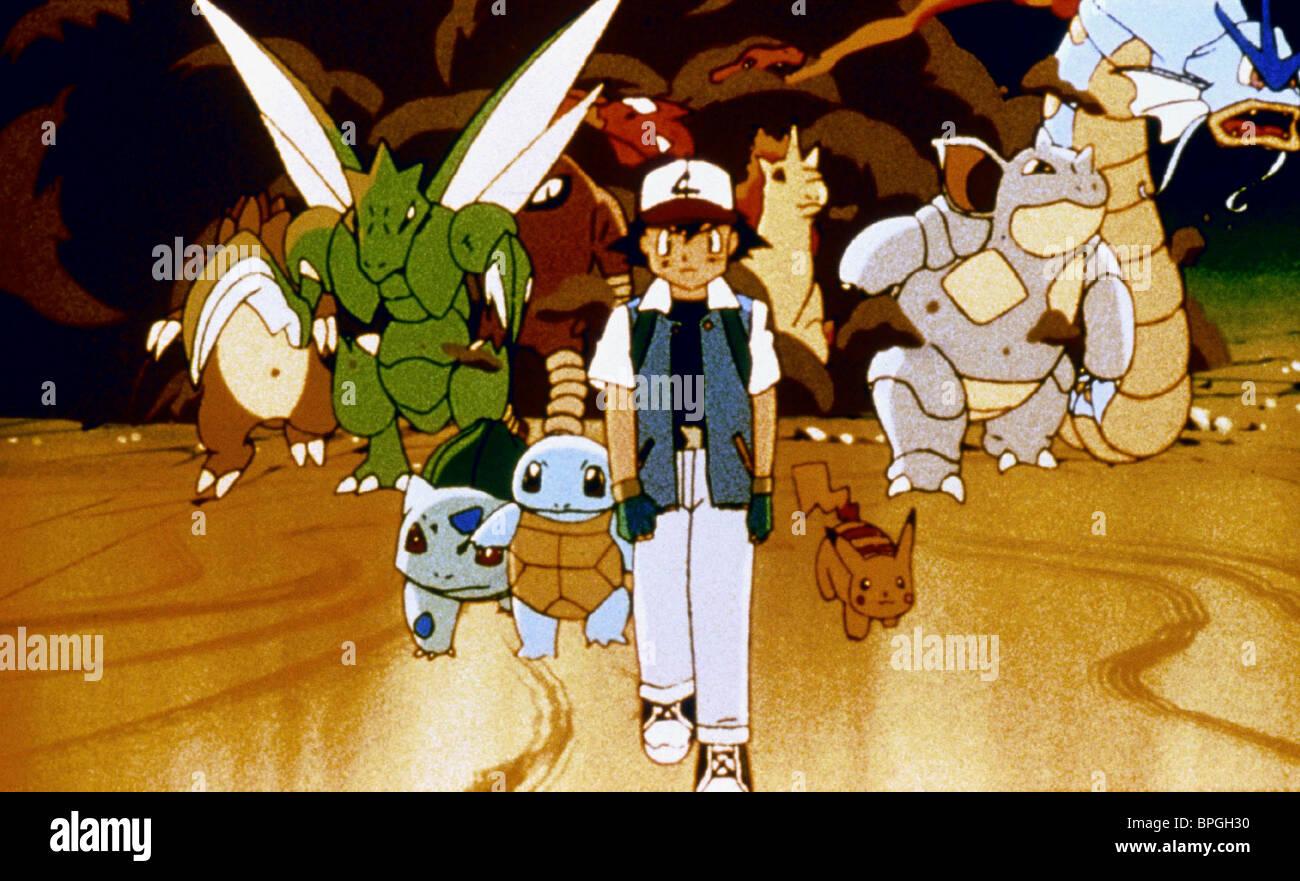 Ash Pokemon Monsters Pokemon The First Movie Mewtwo Strikes