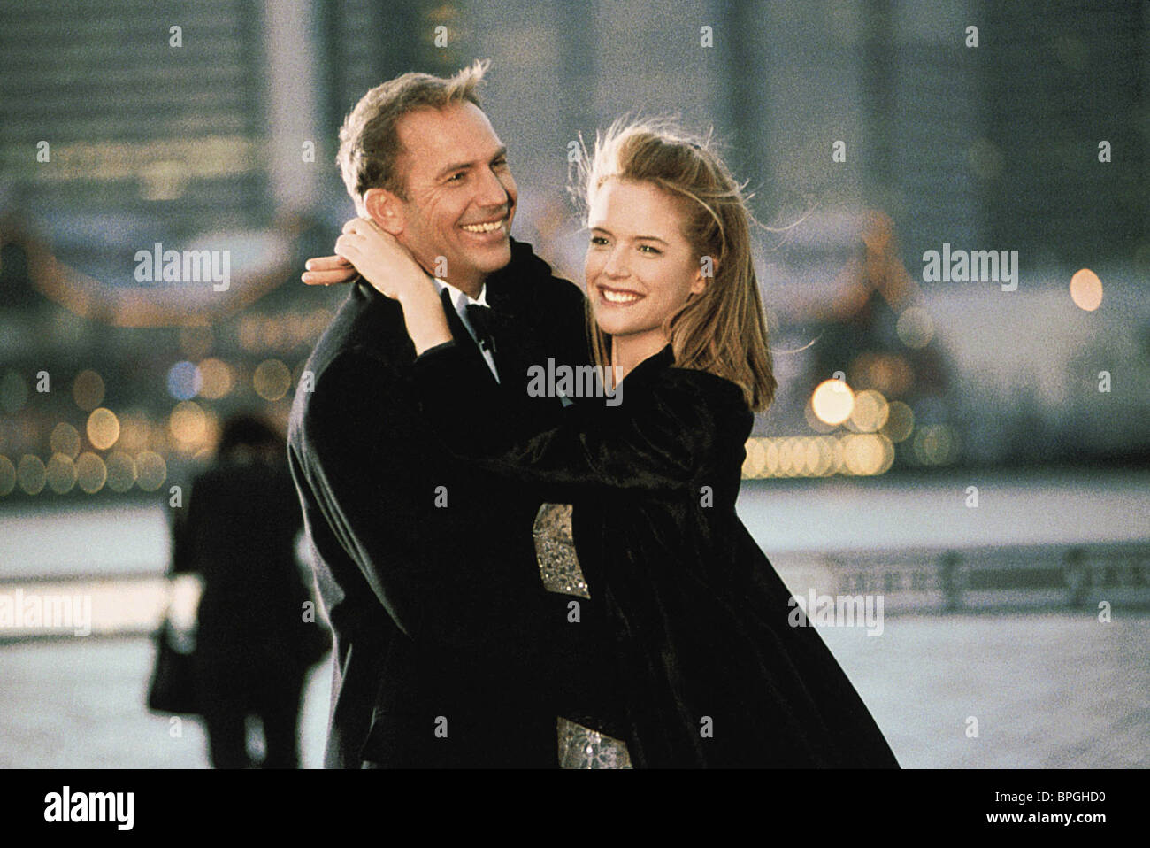 042bce837c90d KEVIN COSTNER   KELLY PRESTON FOR LOVE OF THE GAME (1999 Stock Photo ...