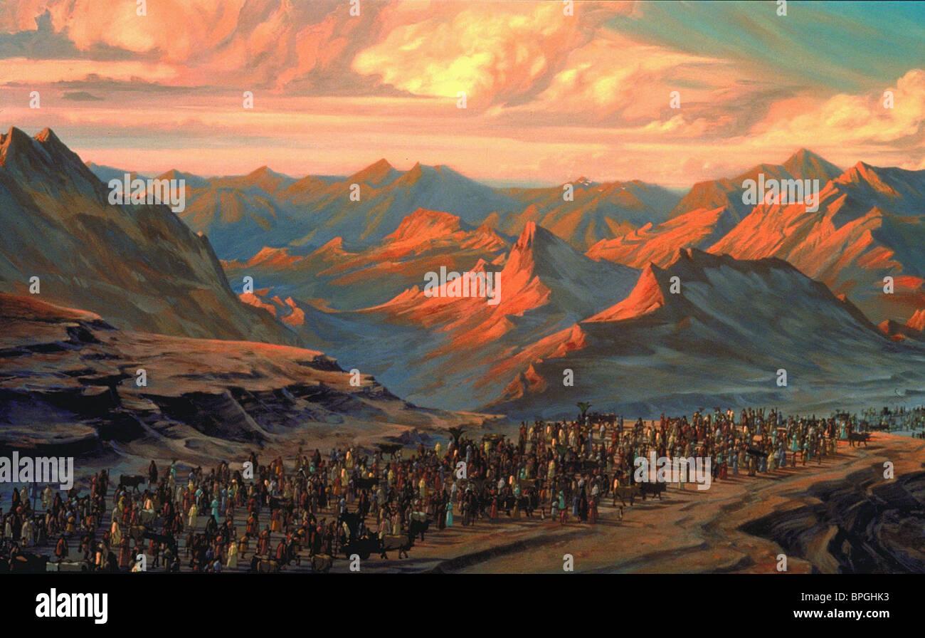 MASS EGYPT EXODUS THE PRINCE OF EGYPT (1998) - Stock Image