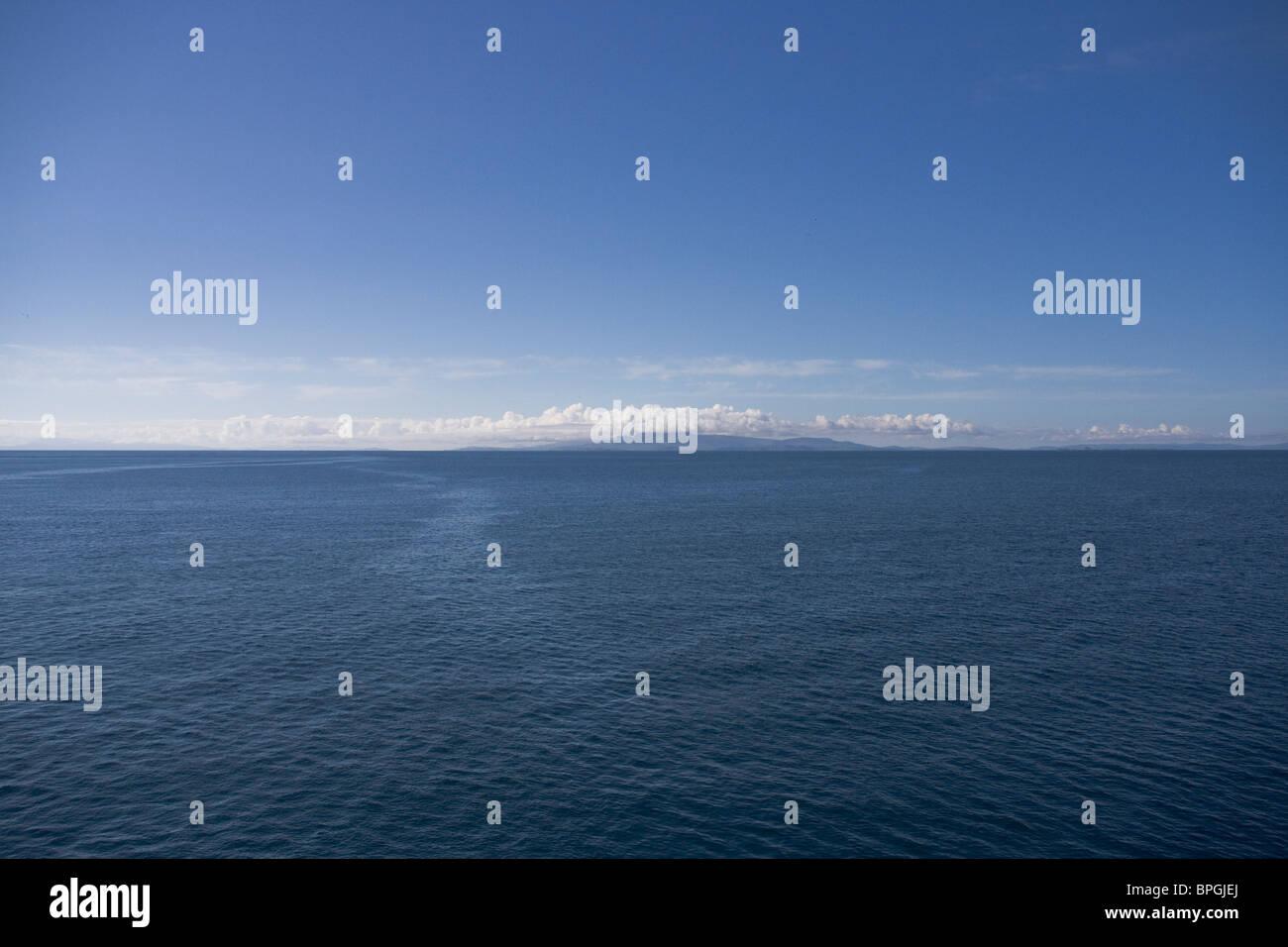 Isle of Skye from the Minch, Scotland Stock Photo