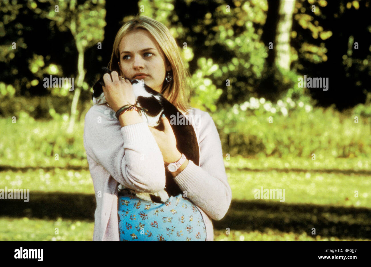 ELISABETH MOSS EARTHLY POSSESSIONS (1999) - Stock Image