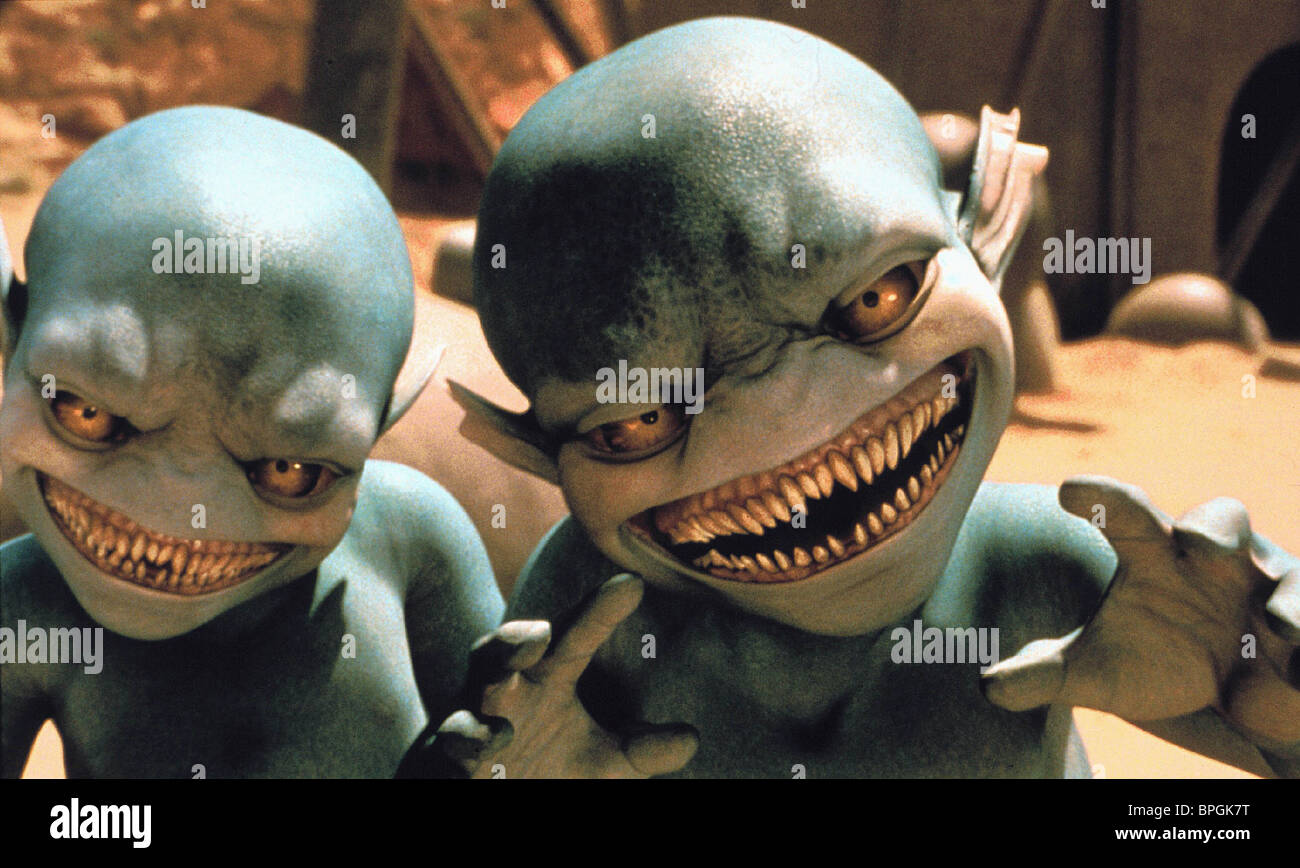 ALIENS GALAXY QUEST (1999) - Stock Image
