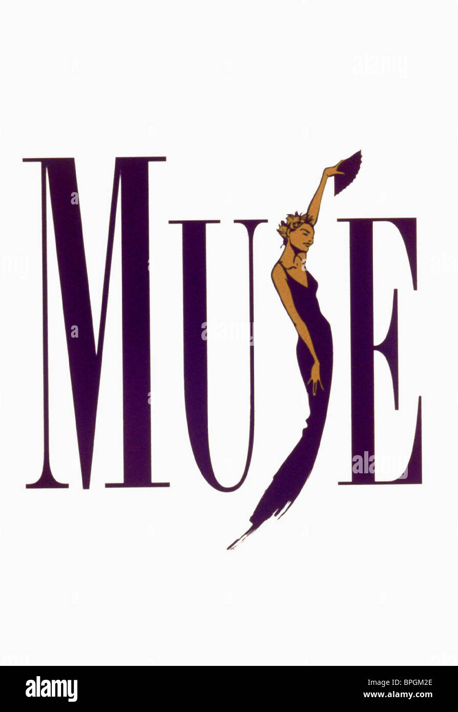 THE MUSE ARTWORK THE MUSE (1999) - Stock Image