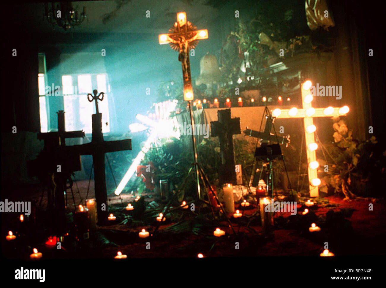 CRUCIFIX SCENE RESURRECTION (1999) - Stock Image