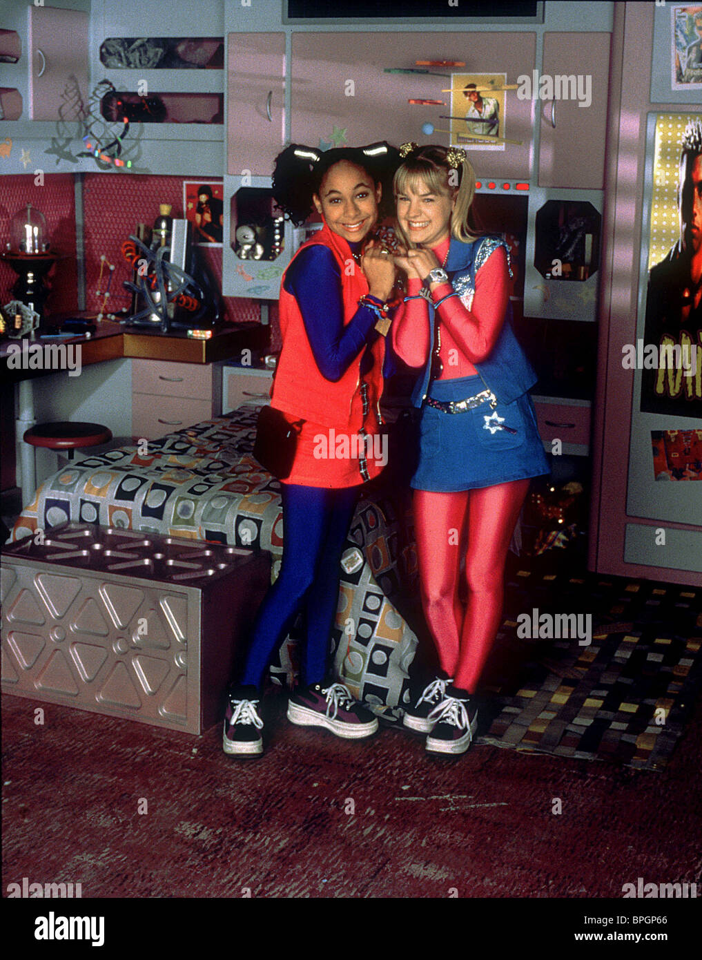 RAVEN-SYMONE & KIRSTEN STORMS ZENON: GIRL OF THE 21ST CENTURY (1999) - Stock Image