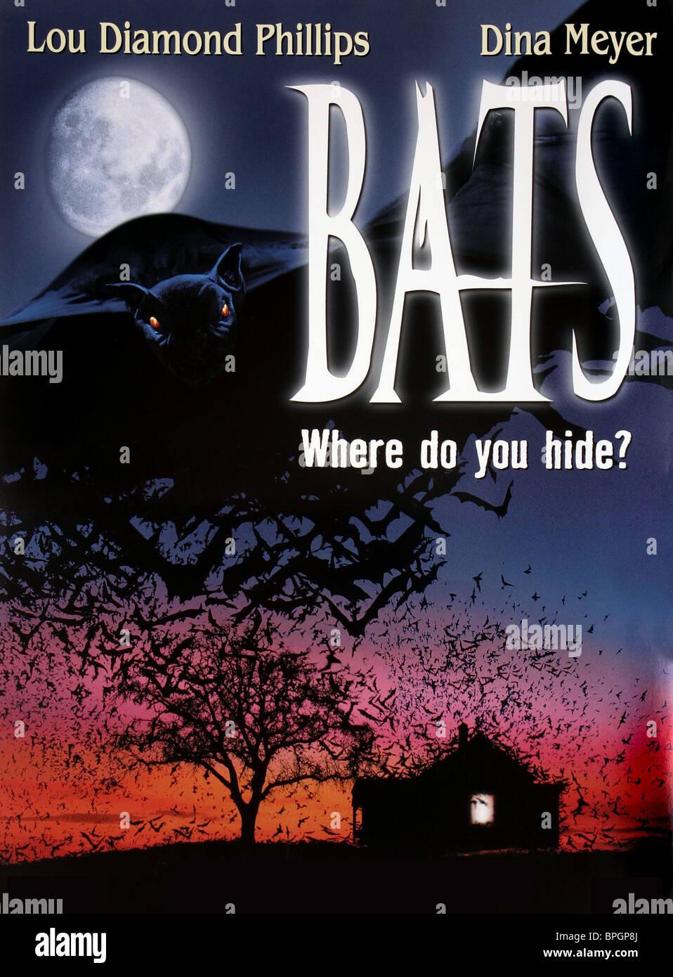 FILM POSTER BATS (1999) - Stock Image