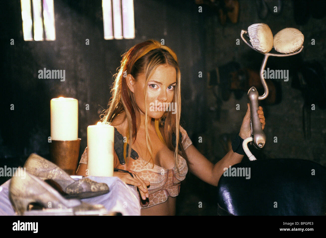 XENIA SEEBERG LEXX (1999) - Stock Image