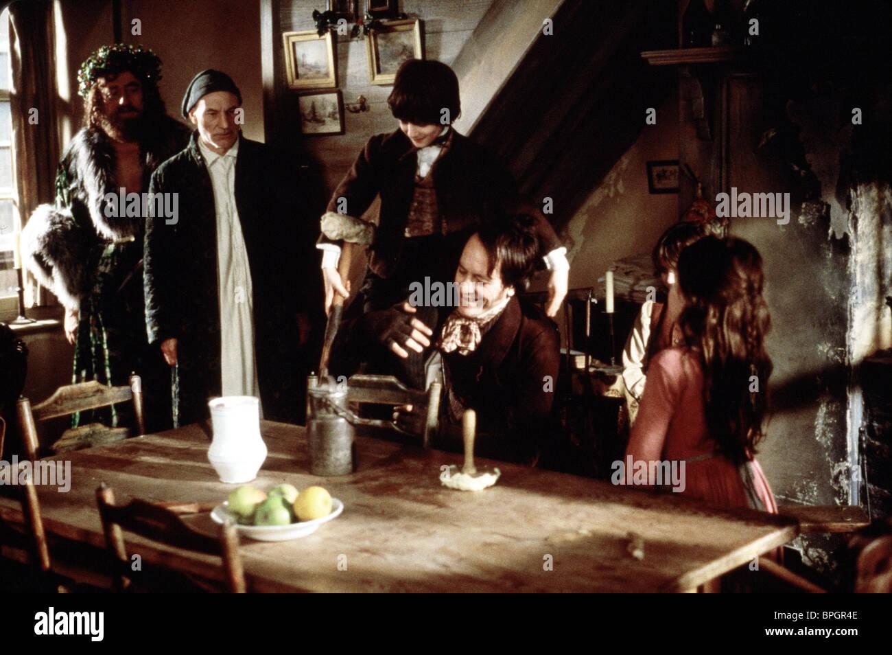 A Christmas Carol 1999.Desmond Barrit Patrick Stewart Ben Tibber Richard E