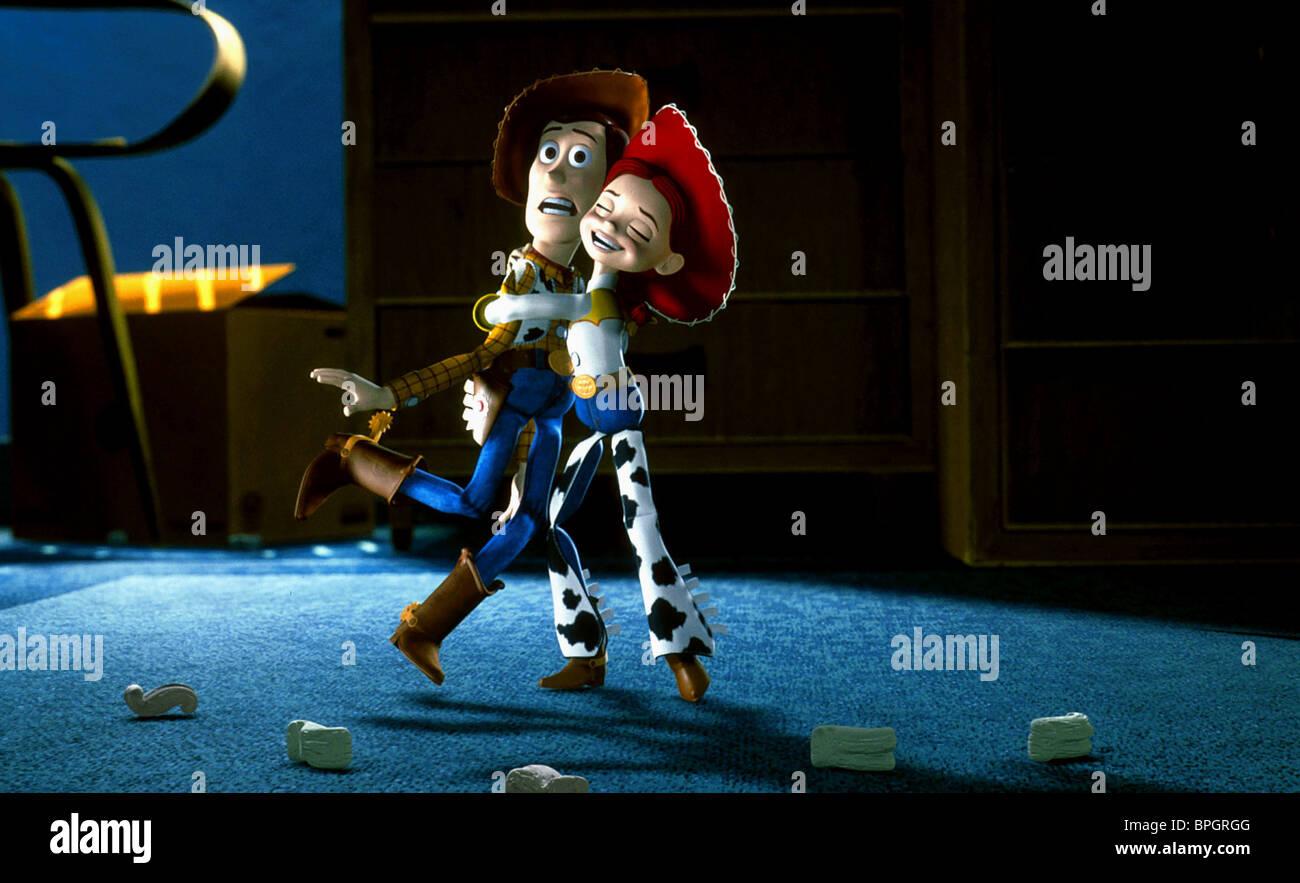 WOODY & JESSIE TOY STORY 2 (1999 Stock Photo: 31102528 - Alamy