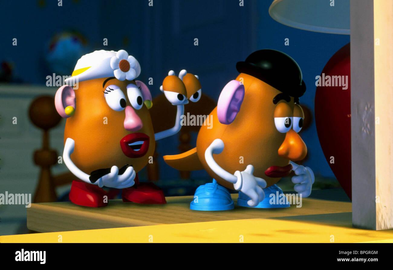 Mrs Potato Head Mr Potato Head Toy Story 2 1999 Stock Photo
