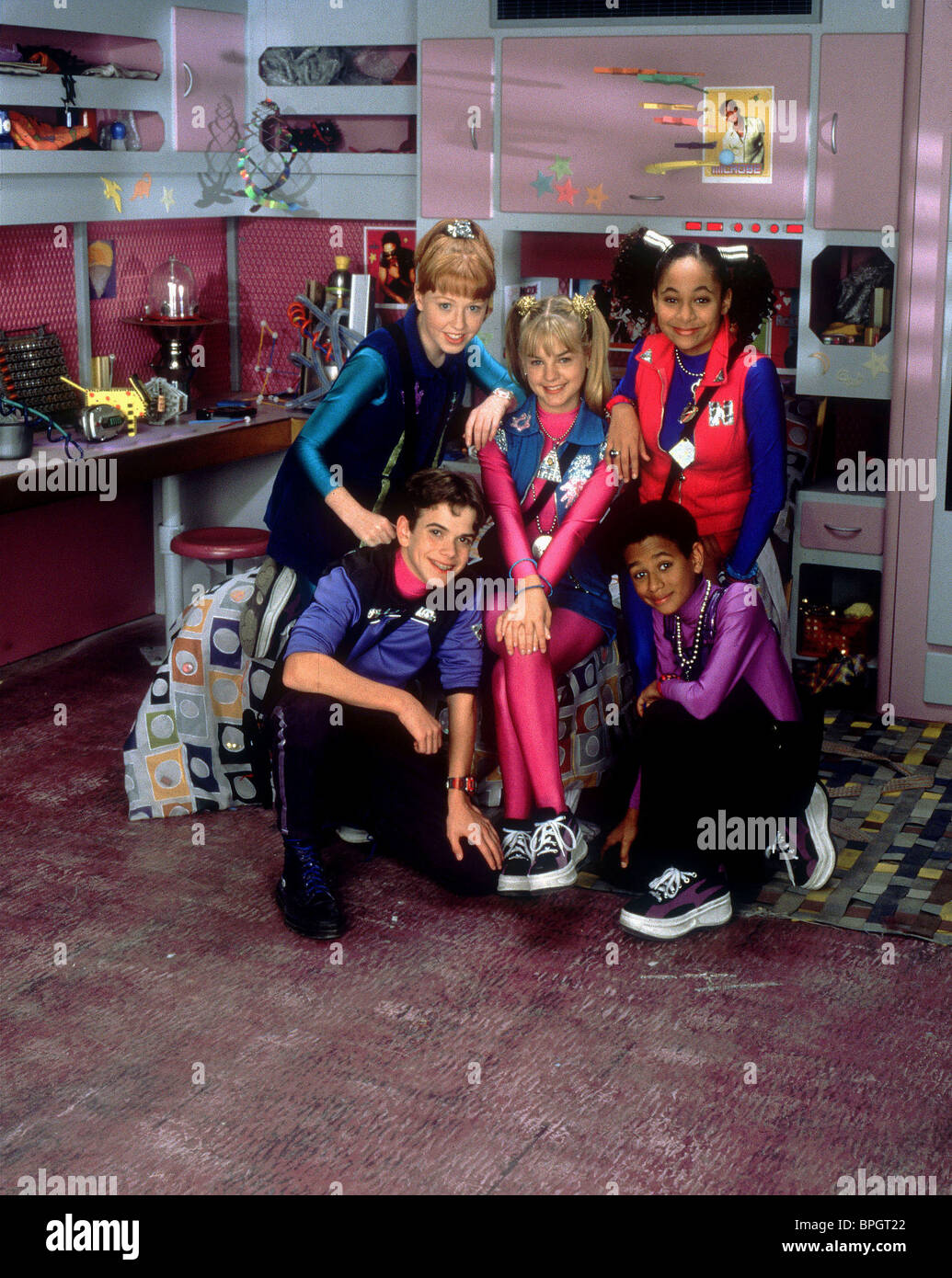 KIRSTEN STORMS & RAVEN-SYMONE ZENON: GIRL OF THE 21ST CENTURY (1999) - Stock Image