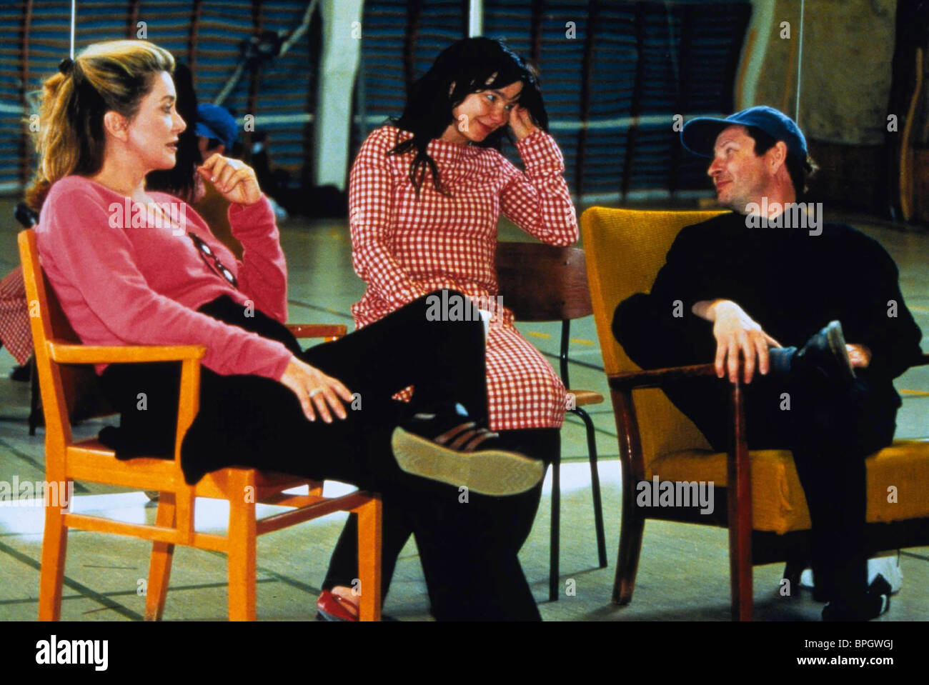 Lars Von Trier Deneuve Bjork Dancer In The Dark 2000 Stock Photo Alamy