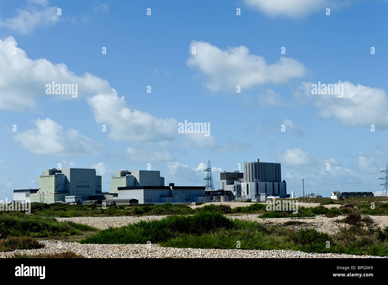 Dungeness Nuclear Power Station Romney Marsh Kent UK - Stock Image