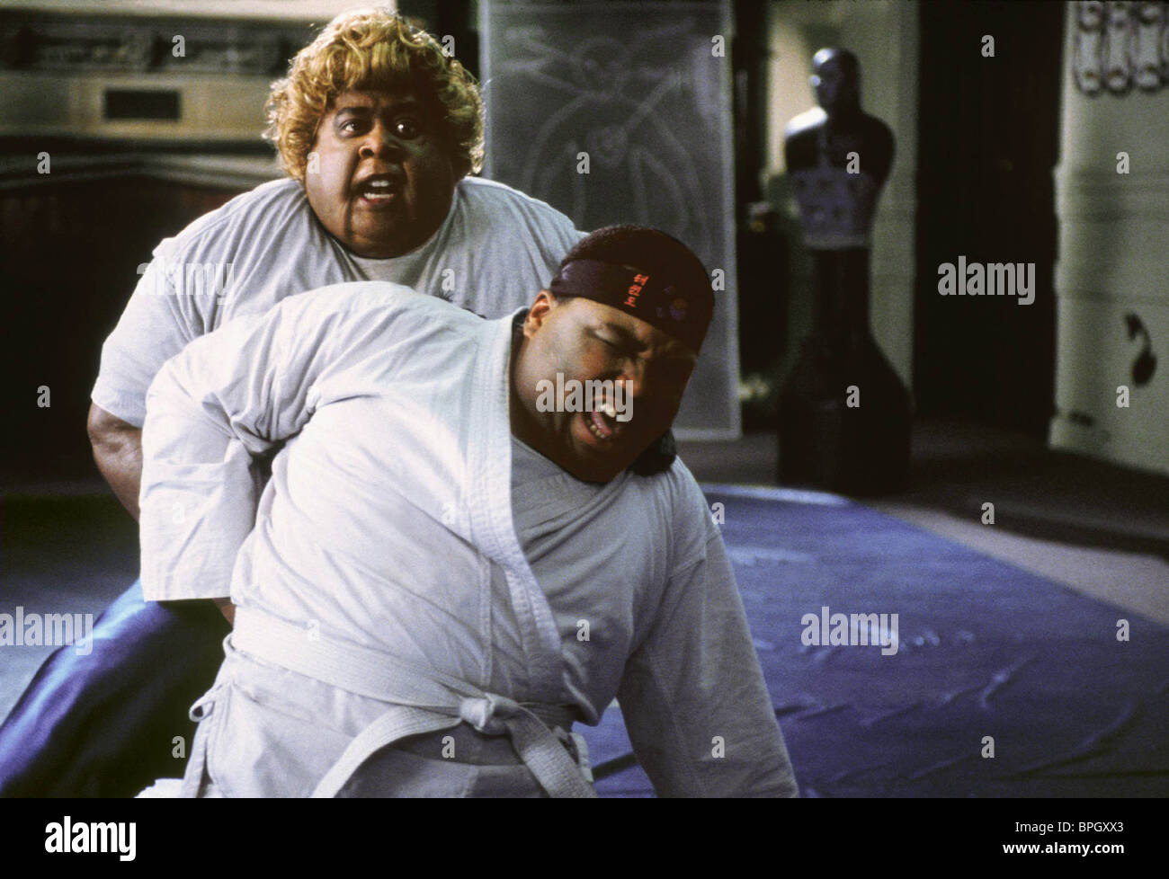 MARTIN LAWRENCE & ANTHONY ANDERSON BIG MOMMA'S HOUSE (2000) - Stock Image