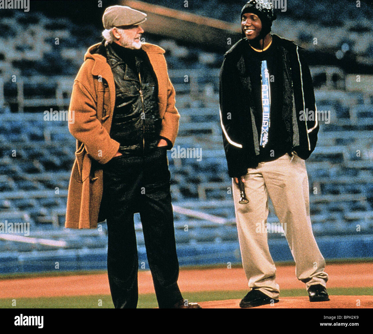 Sean Connery Rob Brown Finding Forrester 2000 Stock Photo Alamy
