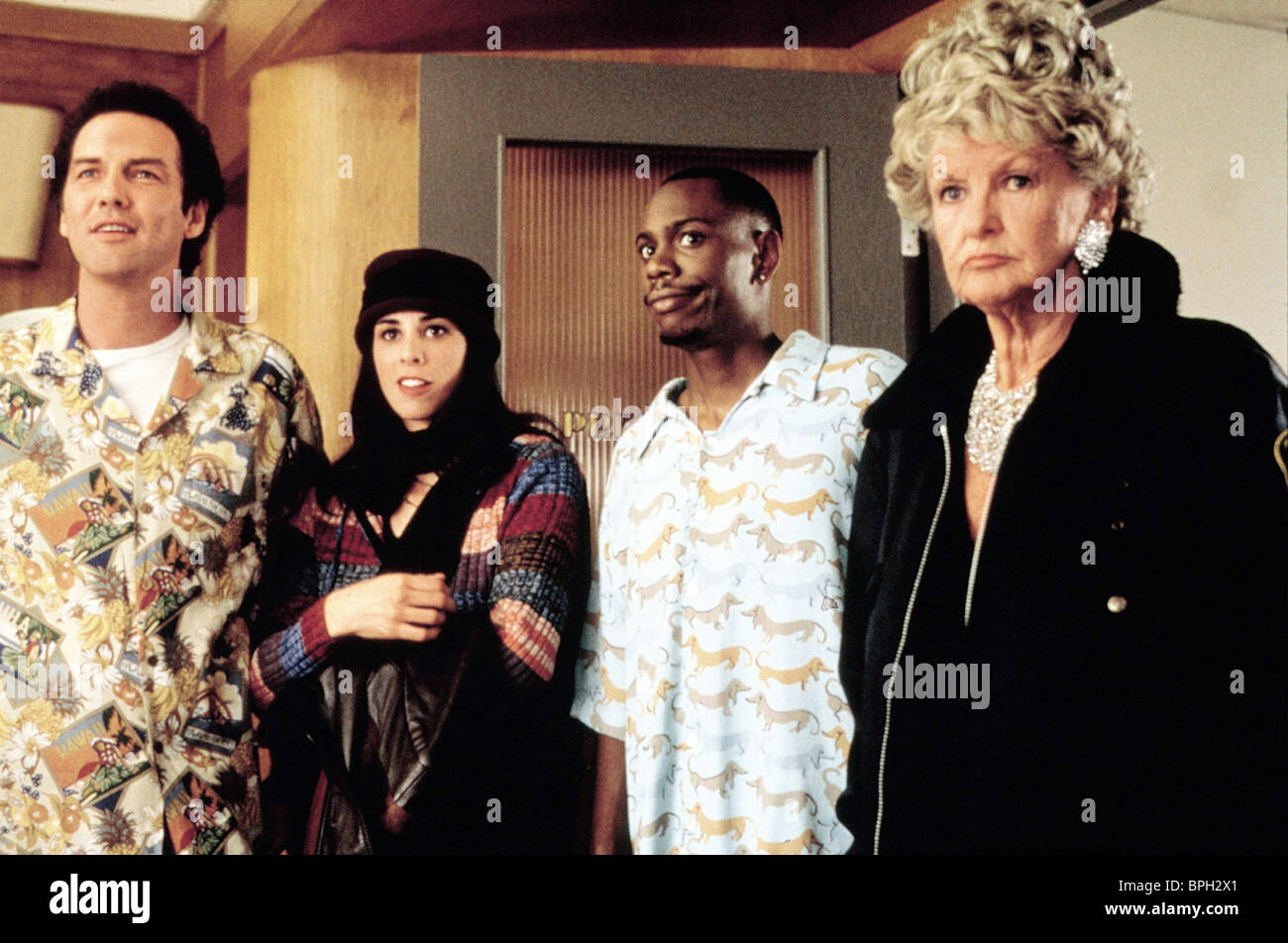 NORM MACDONALD SARAH SILVERMAN DAVE CHAPPELLE & ELAINE STRITCH SCREWED (2000) - Stock Image